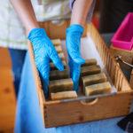 fabrication savon