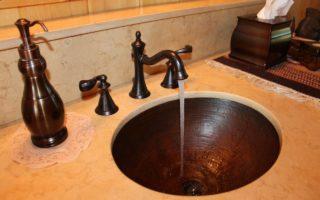 lavabo eau qui coule
